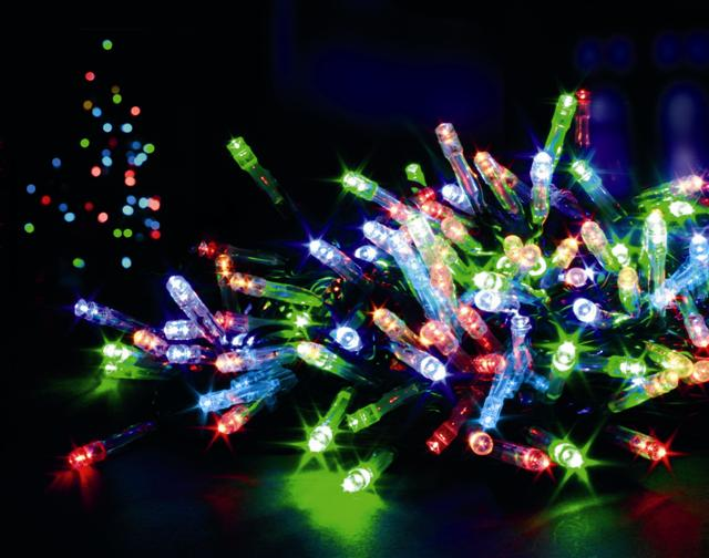 connectable Christmas lights