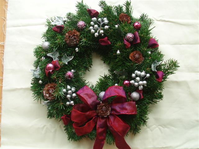 Chic Christmas Wreath