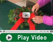 Play christmas wreaths video