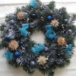Contemporary Christmas Wreath