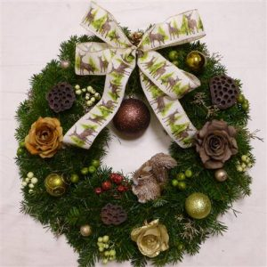 Squirrel Nutkins Wreath