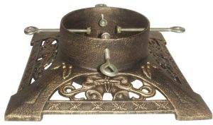 Gold Victorian Cast Iron Stand