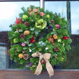 office-door-wreath