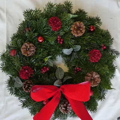 Festive-christmas-Wreath
