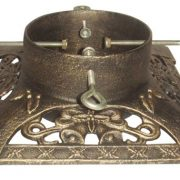 Victorian Antique Gold Cast Iron Stand